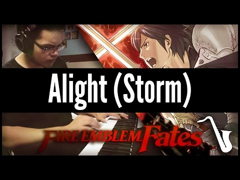 Fire Emblem Fates: Alight (Storm) - Jazz Cover || insaneintherainmusic (feat. Crowdsourced Clappers)