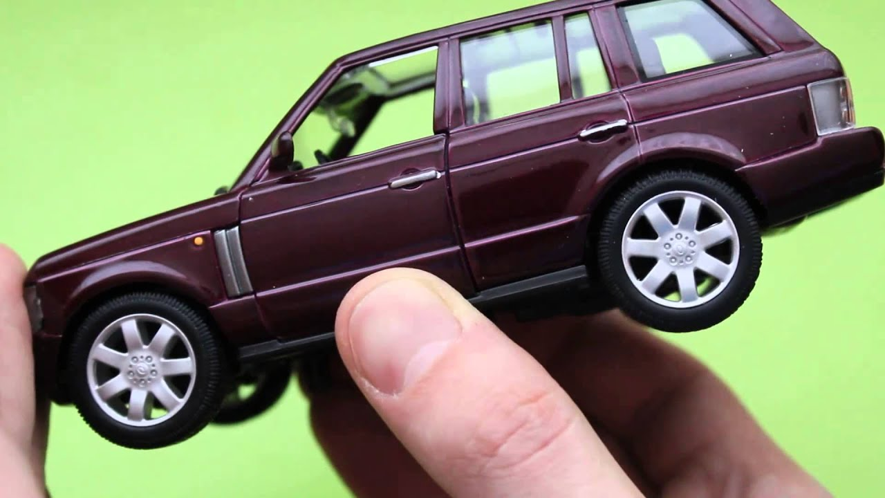 Range Rover Land Rover 2014 >> Land Rover Range Rover Welly Collection Toys. - YouTube