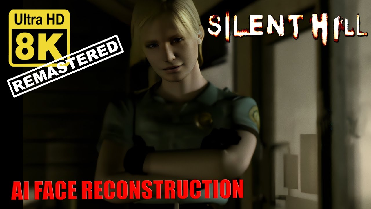 Download Silent Hill 1 Opening Intro PSX 8k ( Upscale + AI Face reconstruction)