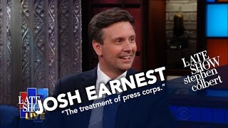 Former Press Secretary Josh Earnest Talks Sean Spicer And Fake News thumbnail