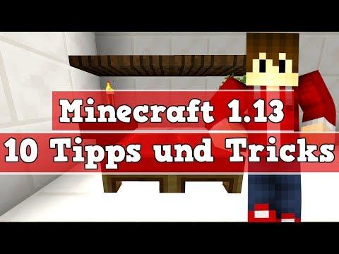 10 Tipps Und Tricks Für Minecraft 1.13   Minecraft 1.13 Besser Bauen