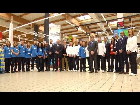 Inauguración oficial de Carrefour en Ceuta