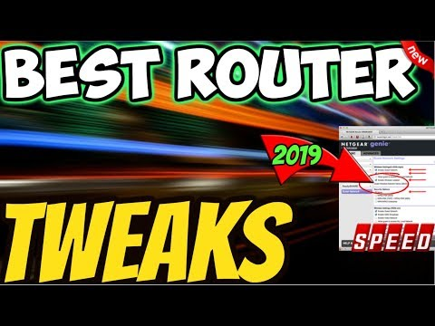 🔴BEST ROUTER SETTINGS FOR FAST & SECURE INTERNET / STREAMING 2019