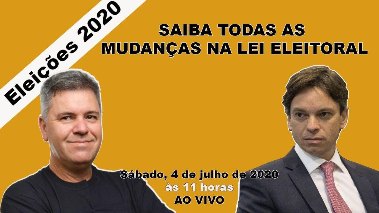 [Ao vivo] Adiamento das eleições municipais 2020
