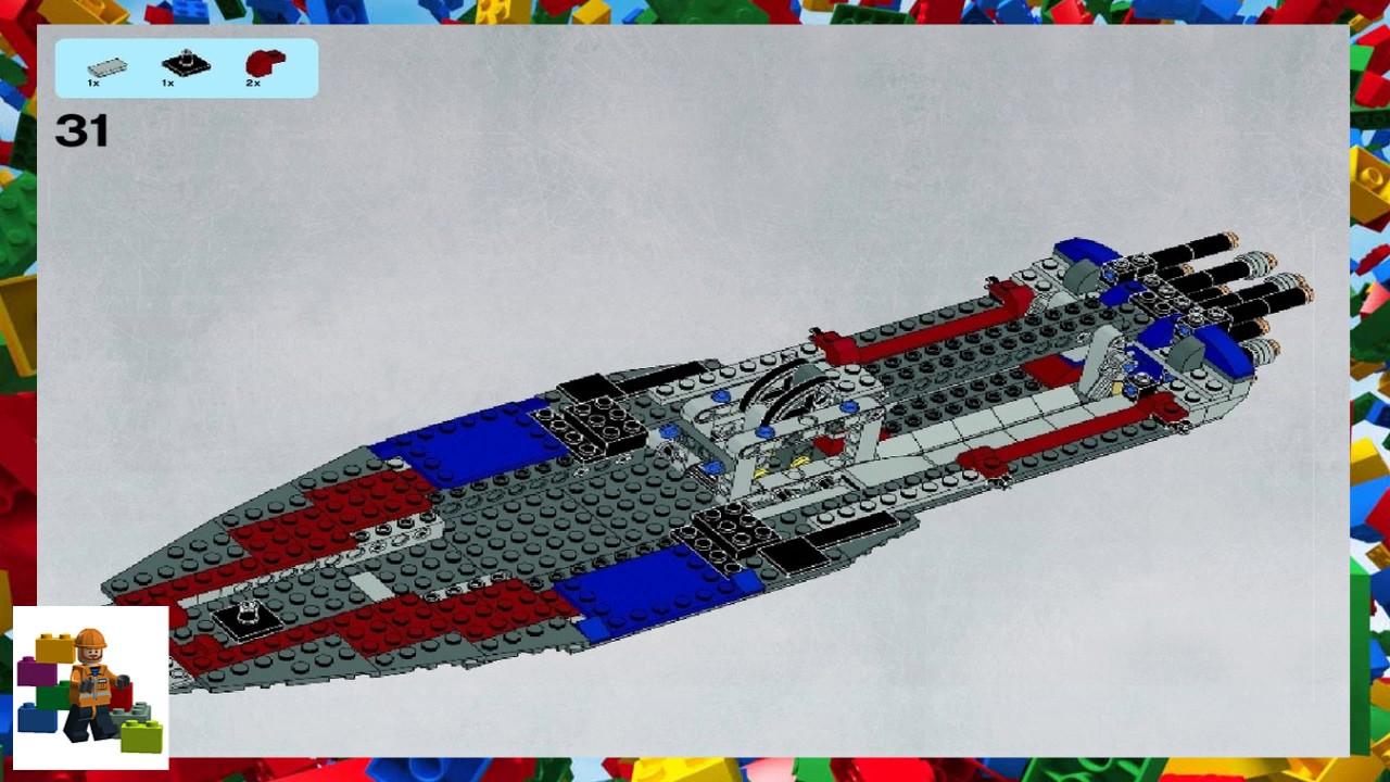 Lego Instructions Star Wars 9515 Malevolence Book 1 Youtube