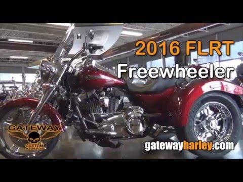 custom 2016 harley davidson freewheeler - youtube