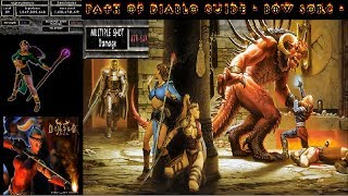 Path of Diablo HC - Bow Sorc Guide 54k multishot, 60k melee