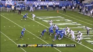 09/08/2012 Kent State vs Kentucky Football Highlights