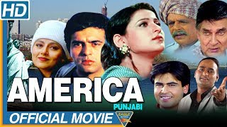 America Punjabi Full Movie || Randeep Arya, Ravinder Mann, Neha Grewal || Eagle Punjabi Movies