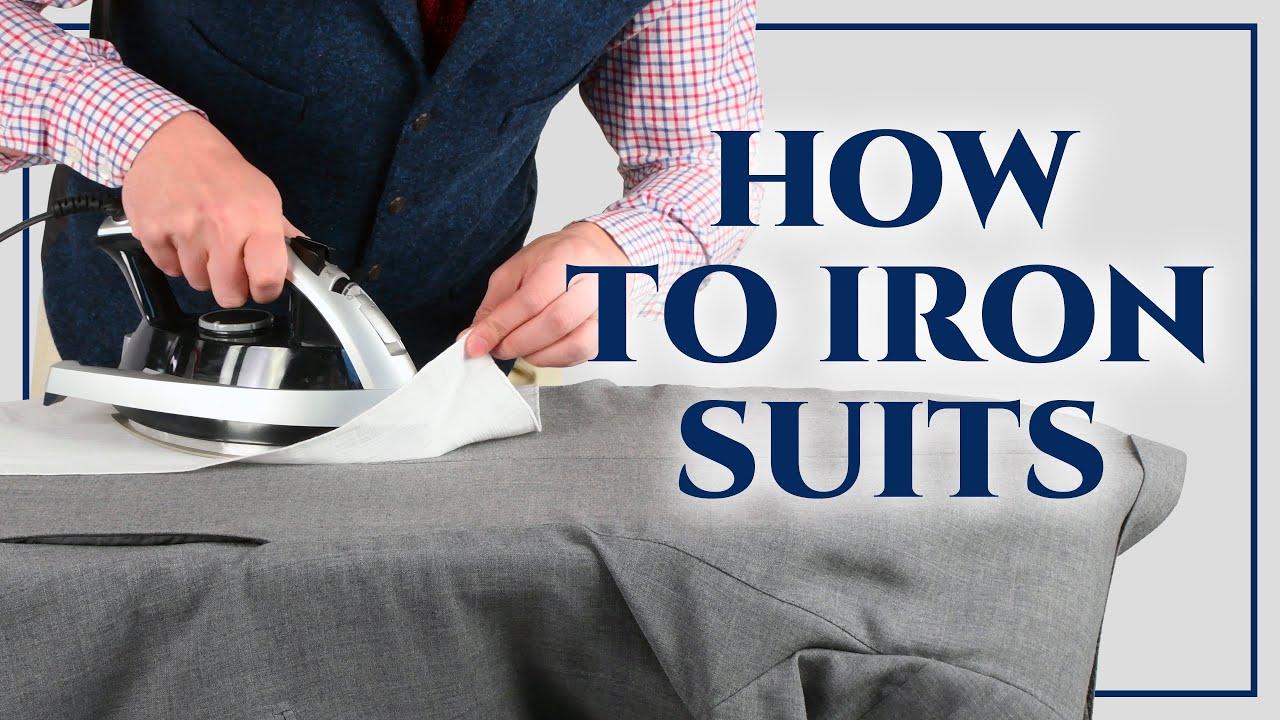 How to Iron a Suit Jacket How to Iron a Suit Jacket new pics