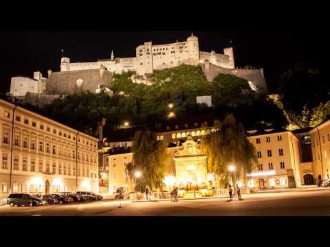 Salzburg City by Night