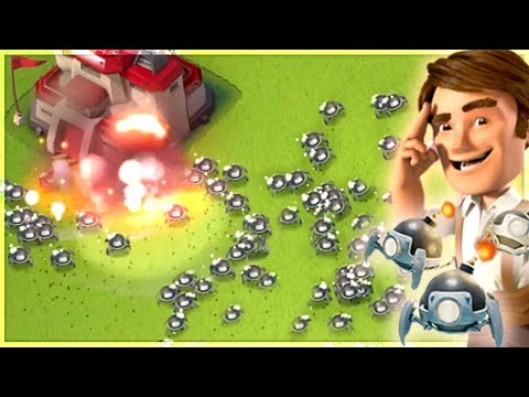 Boom Beach NEW EXPLOSIVE DRONES! New Gunboat Ability + Tribe Reset Update!