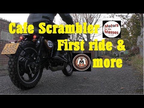 1978 Cafe Scrambler Build FIRST RIDE - RusLar.Me
