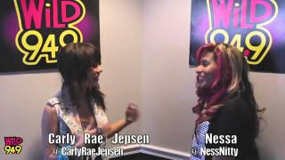 Carly Rae Jepsen Interview @ Wild 94.9 on October 6,2012