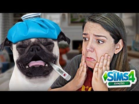 MEU CACHORRO TA DOENTE! - The Sims 4 Estações
