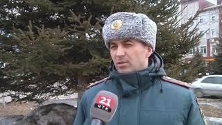 Правила пожарной безопасности напомнили специалисты ГУ МЧС России по ЕАО жителям частных домов