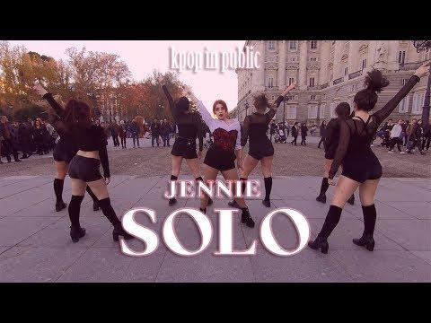 [KPOP IN PUBLIC CHALLENGE] SOLO DANCE COVER CONTEST || JENNIE - SOLO || By Ponysquad SPAIN