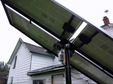 Diy Solar panel manual tracking rack
