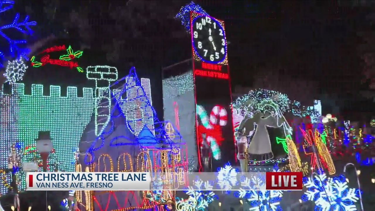 Christmas Tree Lane - YouTube