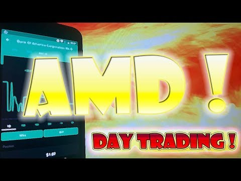 Day and Swing Trading AMD for Profit! | Robinhood APP Investing