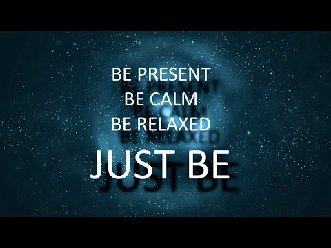 Mindfulness meditation for being present - A Guided Acceptance of emotions and feelings