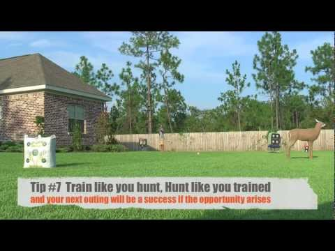 How To Practice With A Compound Bow For Deer Hunting