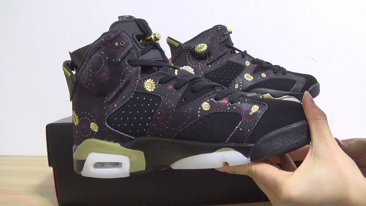 1087a11911a0 Authentic Air Jordan 6 CNY - YouTube