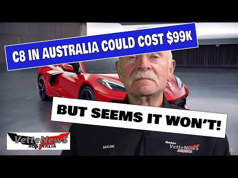 Corvette C8 Could Be $99K In Australia
