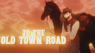 OLD TOWN ROAD [Metal Ver.] - Lil Nas X - Cover by Caleb Hyles (lyrics)