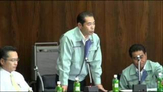 【3/7 要望説明 ② 】 JA邑楽館林、園芸部長による要望説明。