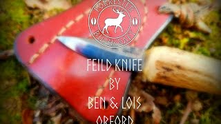 Recommended gear | Feild Knife by Ben & Lois orford