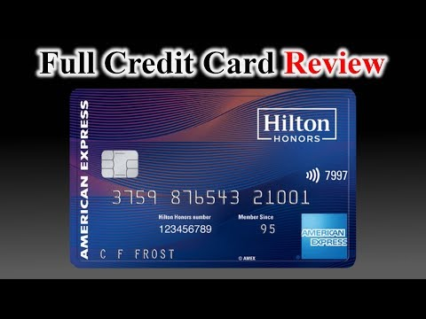 Credit Card Review | Hilton Honors American Express Aspire Card