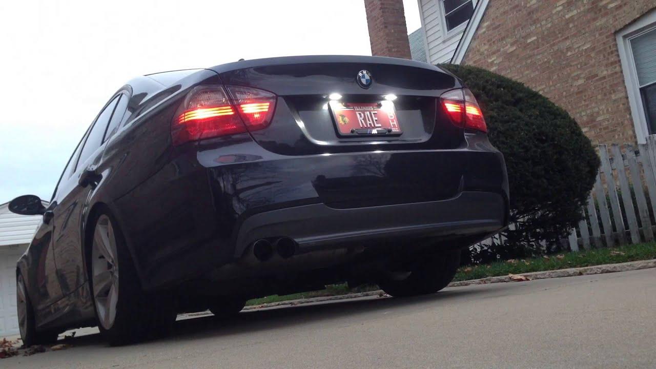 BMW E90 330i Performance Exhaust  YouTube