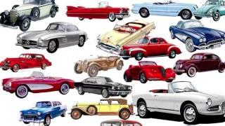 Машинки  Детям про машины  Типы кузовов  Виды автомобилей  Обучающая видео презентация