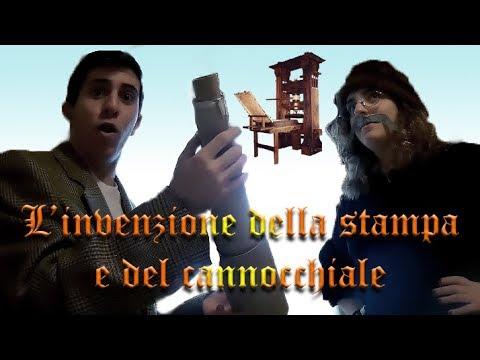 L'invenzione della stampa e del cannocchiale - Luca Marini & Denise