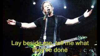 The Unforgiven 2 by Metallica (Lyrics IN video!!!)