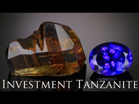 Investment Grade Tanzanite