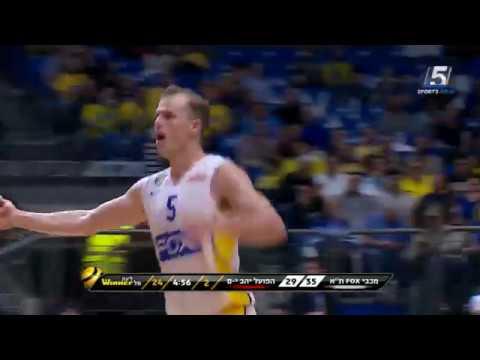 Winner-League Game 26: Maccabi FOX Tel Aviv 81 - Hapoel Jerusalem 82