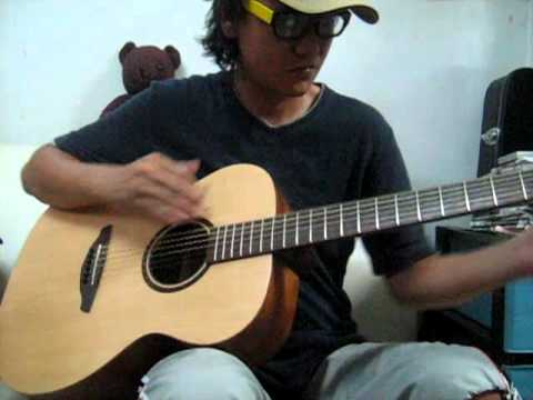 Tuning C#m7add9 (Demo) fingerstyle