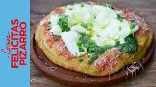 Fried Pizza (Pizza Frita)  Felicitas Pizarro
