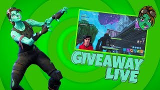 Fortnite VBUCKS / ACCOUNT GIVEAWAY - GHOUL TROOPER RETURNING!? - HITTING 5,000 SUBS LIVE