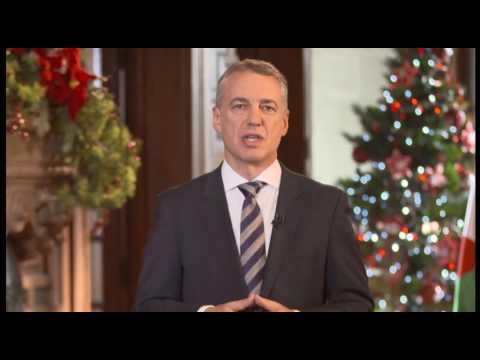 Mensaje de Fin de Año del Lehendakari Iñigo Urkullu