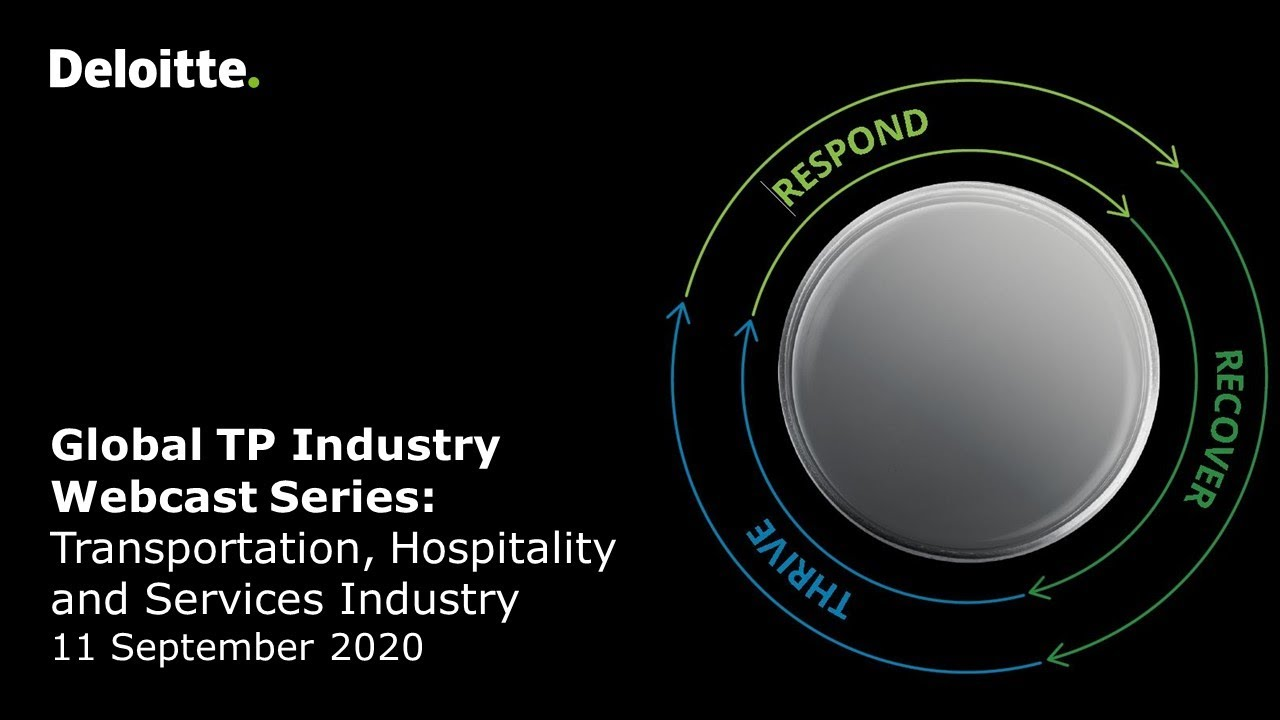 TP Industry Insights and impact of COVID-19 on the Transportation, Hospitality and Services Industry