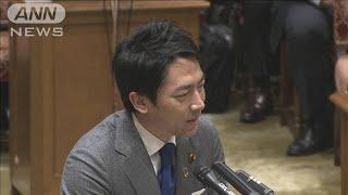 """「オムツ替えも担当」小泉大臣""""育休""""の感想語る(20/01/29)"""