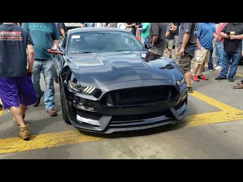 2018 Sheby GT350 sells at Auction for how much? Flying Wheels