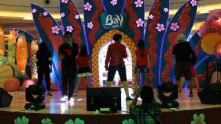POPSTRIPE  - SHOUT & SHAKE (AAA Cover Song) at HI! NIPPON FEST 30-05-2015