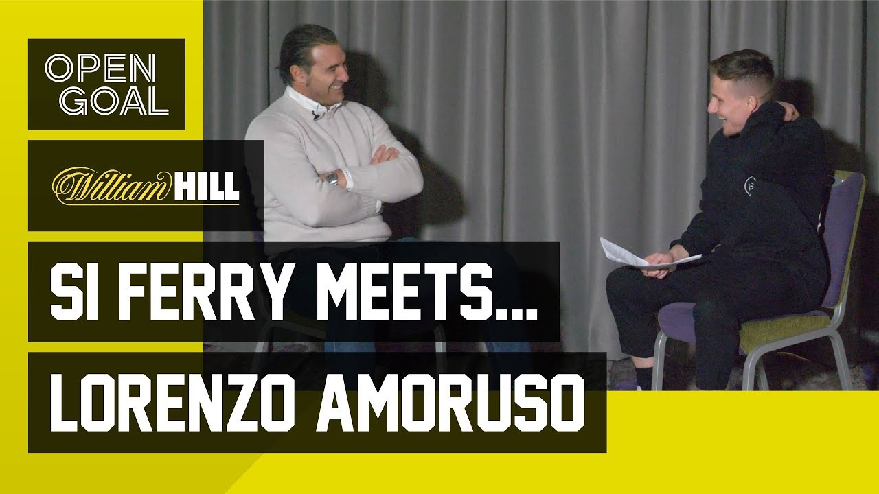 Si Ferry Meets Lorenzo Amoruso Life At Rangers