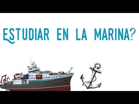 Estudiar en la marina o naval militar