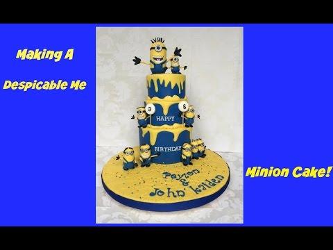 Making A Despicable Me Minion Cake!