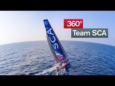Team SCA 360* experience | Volvo Ocean Race 2014-15